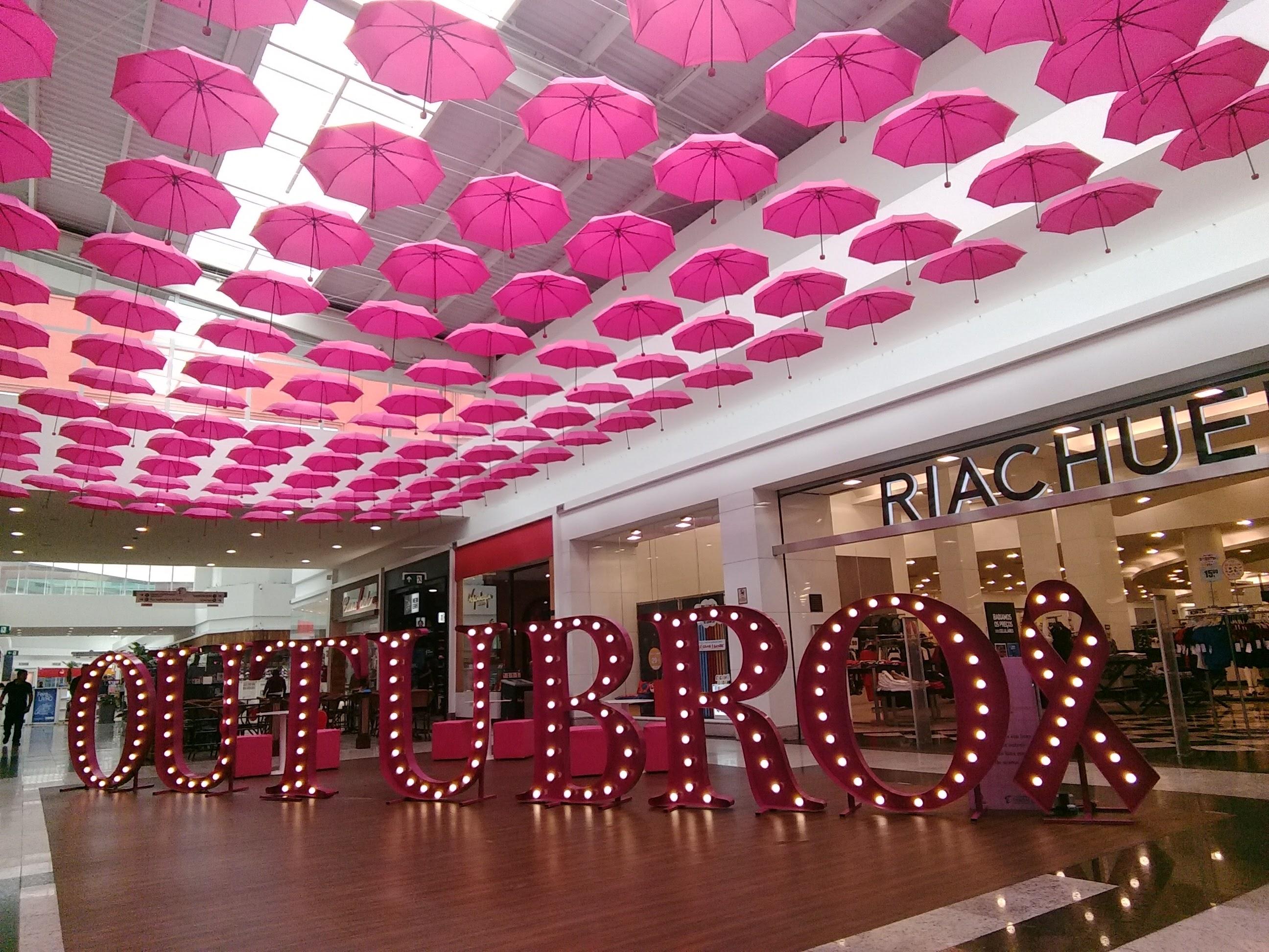 Extremamente Shopping Taboão tem instalação artística no Outubro Rosa- Notícias  UG46